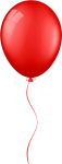Free Png Download Red Balloon Clipart Png Photo Png - Transparent Background Red Balloon Png, Png Download