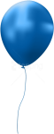 Free Png Download Blue Single Balloon Png Images Background - Balloon Png Transparent Background, Png Download