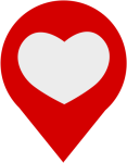 Heart Computer Icons Download Symbol Love - Love Location Icon Png, Transparent Png