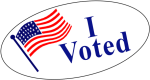After A Long And Uniquely Competitive Election Season, - Transparent I Voted Sticker, HD Png Download