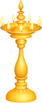 Free Png Download Indian Deco Candlestick Png Clipart - Oil Lamp Diwali Lamp Png, Transparent Png