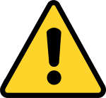 Safety Symbols And Signs - Warning Sign Png, Transparent Png
