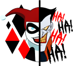 Png Library Stock Harley By Woodivillage Db D Rh Png - Joker Y Harley Quinn Logo, Transparent Png