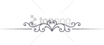 Free Png Single Line Border Designs Png Png Image With - Calligraphy, Transparent Png