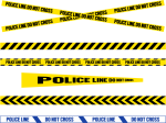 Police Line Do Not Cross Png - Vector Police Line Png, Transparent Png