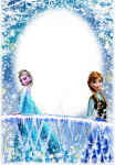 Frozen Frames And Borders, HD Png Download
