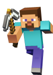Minecraft Character Art - Minecraft, HD Png Download