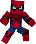 Hd Preview - Spiderman Homecoming Minecraft Spiderman Skin, HD Png Download