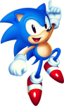 Sonic Mania Sonic New Blue With Shadow - Sonic Mania Sonic Png, Transparent Png