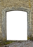 Door, Portal, Archway, Historically, Old, Goal, Gate - Wall Bricks Gate Png, Transparent Png