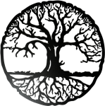 Transparent Tree Of Life With Roots - Tree Of Life Transparent, HD Png Download
