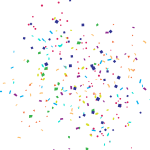 Party Parties Celebrate Celebration Effects - Happy Birthday Vector Png, Transparent Png