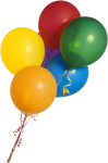Free Balloon Images - Real Bunch Of Balloons, HD Png Download