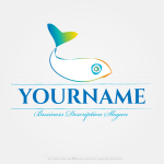 Create A Fish Logo Template With Our Free Logo Creator - Arabesque, HD Png Download