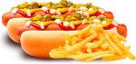 2 Deliciosos Hotdogs - National Hot Dog Day, HD Png Download