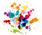 Free Png Download Colorful Paint Splatter Transparent - Paint Splatter Clear Background, Png Download