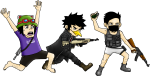 Picture Transparent Playerunknown - Pubg Cartoon Characters, HD Png Download