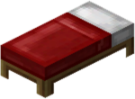 Bed Sticker - Minecraft Bed Crafting, HD Png Download