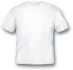 Blank White T-shirt Template Png - Blank White T Shirt Png, Transparent Png