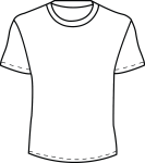 White T Shirt Template Png Images Pictures Becuo Zekkf - T Shirt Plain Template Png, Transparent Png