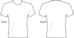 Blank Tshirt Template Png - T Shirt Design Template Png, Transparent Png