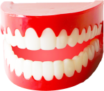 Chattering Teeth Png - Carmine, Transparent Png