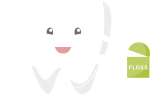 Brushing And Flossing - Transparent Cartoon Teeth Floss, HD Png Download