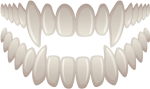 Fangs Transparent - Sharp Bloody Teeth, HD Png Download
