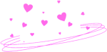 Ftestickers Hearts Heartcrown Halo Tumblr Pink Png - Blue Heart Crown Png, Transparent Png