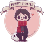 Tumblr Sticker - Naomi Lord Harry Potter, HD Png Download