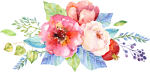 Free Png Download Watercolor Flower Background Design - Peony Watercolor Painting For Invitation, Transparent Png