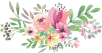 Free Png Download Watercolor Flowers Vector Png Images - Watercolor Flower Png Transparent, Png Download