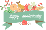 Wedding Anniversary Greeting Card - Happy Wedding Anniversary Png, Transparent Png