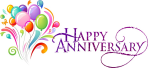 Anniversary Text Png - Happy Wedding Anniversary Png, Transparent Png