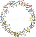 Sharon Mesher Wedding Flowers And Florist In Plymouth - Wedding Flower Circle Png, Transparent Png