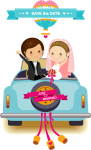Wedding Day Png - Muslim Wedding Save The Date, Transparent Png