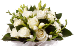 How To Save Money On Wedding Flowers - Wedding Flower Bouquet Png, Transparent Png