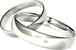 606 X 774 9 - Clipart Wedding Rings Transparent Background, HD Png Download