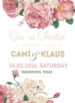 Flower Material Invitations Template Invitation Wedding - Wedding Invitation Template Png, Transparent Png
