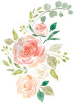 1024 X 1280 32 - Hand Drawn Flowers Png, Transparent Png