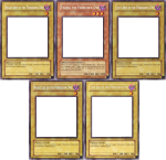 Five Pieces Of Exodia Template - Exodia The Forbidden One Meme Template, HD Png Download