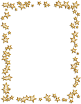 Banner Library Stock Techflourish Collections Borders - Gold Star Frame Png, Transparent Png
