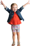 Excited Child Png Banner Free Stock - Kid Png, Transparent Png