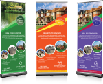 Digital Banner Printing - Roll Up Banners Png, Transparent Png