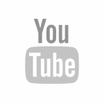 White Youtube Logo Transparent - Youtube Circle Icon Size, HD Png Download