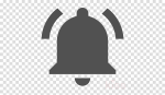 Youtube Notification Bell Png Clipart Youtube Computer - Food Silhouette Clipart Transparent, Png Download